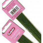 Culpitt Blumendraht / Florist Wire in dunkelgrün, 24g
