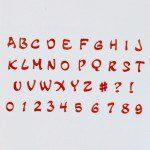 FMM Alphabet & Numbers Tappits Magical Upper Case, Großbuchstaben und -zahlen