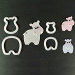 FMM Hippopotamus Cutter Set / Nilpferd
