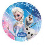 Disney Wafer Sheet - Frozen - Elsa und Olaf