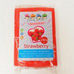 FunCakes Flavoured Fondant Red -Strawberry- -250g-