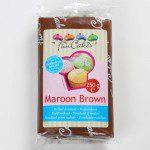 FC - Rollfondant - Maroon Brown