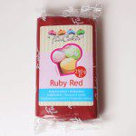 FC - Rollfondant - Ruby Red -250g-