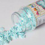 FunCakes Glitter Schneeflocken Blau 50g