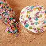 FunCakes Metallic Blumen Mix 70g