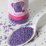 FC Liebesperlen in purple / lila