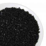 FC Zuckerperlen - glänzend schwarz, 4 mm