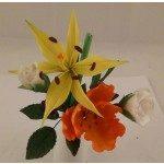 Fine Cut - Longiflorum Lily, 2-teilig