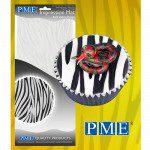 PME Impression Mat Bold Zebra - Strukturmatte Zebra