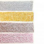 Karen Davies Siliconen Mould - Small Sequins Border