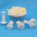 Miniature Diamond Plunger Cutter, 4-teliges Set
