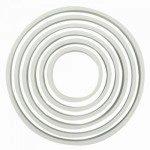 PME Plastic Cutter Circle 6/Set, Kreise