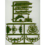 PWK Embroidery Embosser - Bordüren, Blüten, Ranken