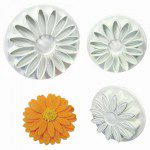 PME Sunflower/Daisy/Gerbera Plunger Cutter set/3